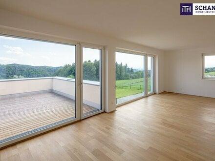 Sensationelle Neubauwohnanlage mitten im Grünen! PROVISIONSFREIES Terrassenhaus mit absoluten Panoramablick zu verkaufen!