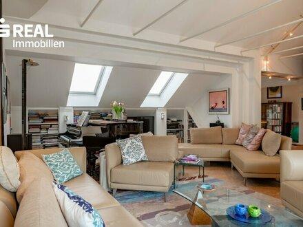 Stilvolle 3-Zimmer DG-Wohnung mit 3 Terrassen
