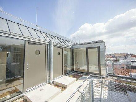 eben fertiggestellte Dachgeschosswohnung mit Terrasse zu mieten - ERESTBZUG