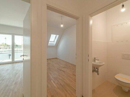 ++NEU++ Perfekt für Anleger oder Eigennutzer: 3-Zimmer DG-NEUBAU-ERSTBEZUG mit Terrasse in TOP-Lage! nahe Kagraner Plat…