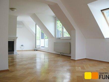 Exklusive Dachgeschoss-Maisonette im Herzen Döblings