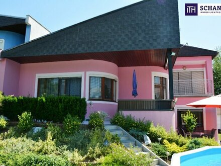 Wohnen mit Stil!! Einfamilienhaus mit wunderschönem Garten + gemütlichem Kamin in Deutschlandsberg