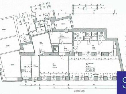 Lugeck-Nähe: 255m² Gewerbefläche in guter Lage - 1010 Wien