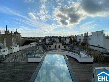Exclusive Dachgeschosswohnung nähe Josef-Strauss-Park!