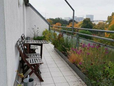 Tolle Dachgeschoßwohnung mit 2 Terrassen und Fernblick