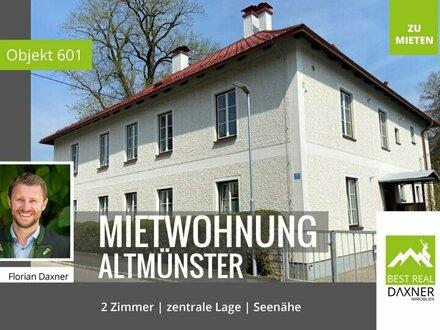 Geräumige Mietwohnung im Zentrum von Altmünster!