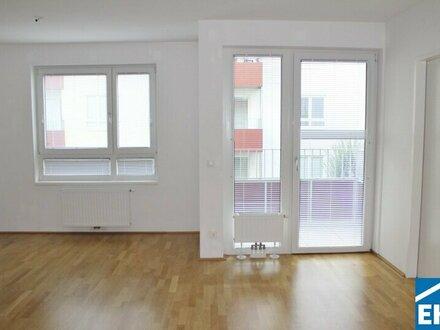 Nette 2 Zimmerwohnung mit Balkon in zentraler Lage