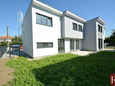 Grünruhelage Bisamberg Nähe Provisionsfreies Doppelhaus Erstbezug
