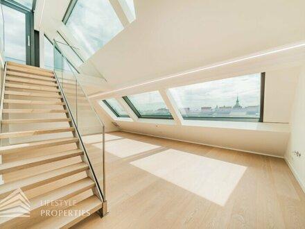 Exklusiver Erstbezug! Penthouse mit Dachterrasse und Pool nähe Stephansplatz