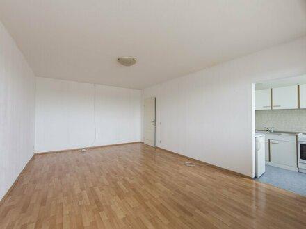 1Zimmer Wohnung mit Terrasse, direkt beim Seyringer Spitz in Fußweite zur U1 zu verkaufen!