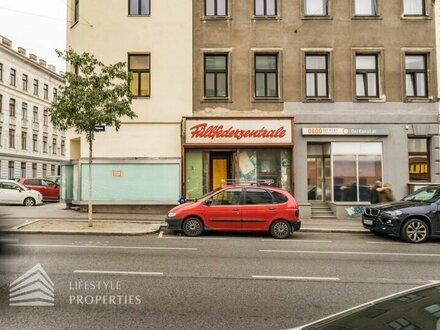 Sanierungsbedürftiges Geschäftslokal in verkehrsgünstiger Lage in Hernals