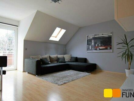 Dachgeschosswohnung mit Terrasse, toller Grundriss