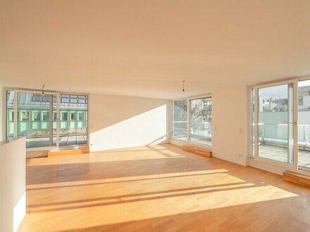 ++NEU++ Premium 3-Zimmer Neubau-Penthouse Wohnung mit tollen Terrassen +GRÜNRUHELAGE+