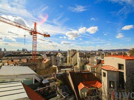 ++ LIVE-VIDEO-Besichtigung ++ The SKY is the Limit ++ Exklusive Dachgeschoss-Maisonette (4 Zimmer) mit Terrassen und RUNDUM-BLICK…