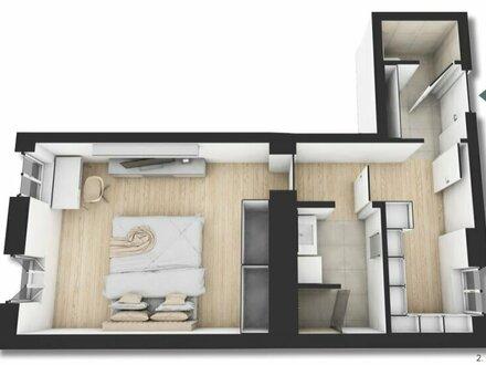 ++NEU++ Hochwertiger 1-Zimmer ALTBAU-ERSTBEZUG, perfekt für Singles, Apartmentvermietung möglich!