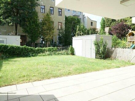 Moderne 3 Zimmerwohnung mit Garten