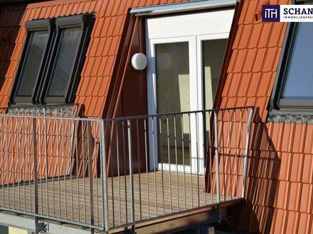ITH: EXQUISITER ERSTBEZUG! Neubau-Dachgeschosswohnung + Balkon + Perfekte Raumaufteilung + Lichtdurchflutet!