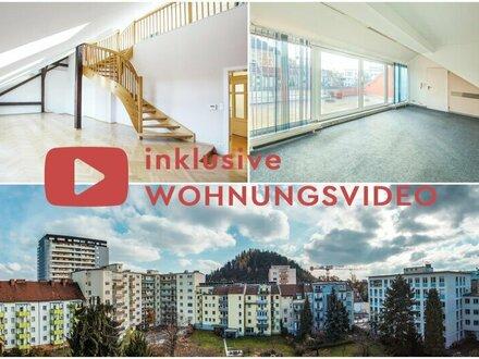 Maisonetten-Wohnung mit Dachterrasse in sehr guter Lage