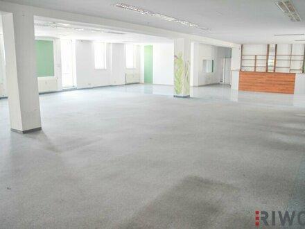 Ca. 370m² frei einteilbare Nutzfläche! Helle Räume für Sport, Ausstellungen usw.