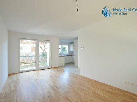 STAMMERSDORF ERSTBEZUG AB 1/2021 VERFÜGBAR: Reihenhaus mit Terrasse, Fußbodenheizung, Garten, Keller + Stellplatz