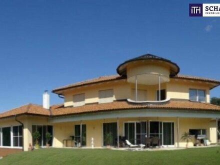 ITH #Phänomenale Herrschaftsvilla mit über 72.000m² Grundfläche + Riesiges Indoorpool + Panoramablick + Lichtdurchflutet…