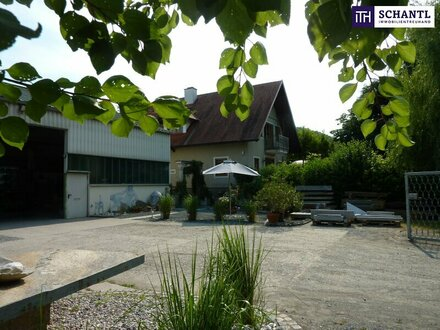 GELEGENHEIT! Entzückendes Wohn-und Geschäftshaus + Großzügige Gewerbe-/Produktionshalle in Zentrumslage + Kerngebiet!