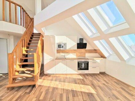 ++NEU++ Nette 2,5-Zimmer Maisonette-ERSTBEZUG, Dachterrasse, gute Raumaufteilung!