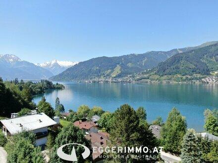 Zell am See: freistehende Villa 300 m2 Wfl. mit sensationellem Rundumblick oberhalb dem Zeller See | touristisch vermietbar…
