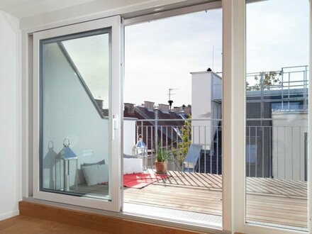 Provisionsfrei für die Käufer -ERSTBEZUG - Dachgeschoss-Maisonette mit West-Terrasse - inkl. Kühlung