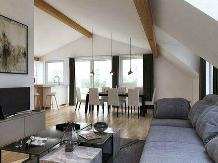 4 Zimmer Erstbezugs Dach-Terrassenwohnung mit Untersbergblick
