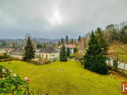 Schöne Drei-Zimmer-Wohnung mit Südloggia und Gartenmitbenutzung