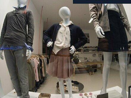 Moderner Concept Store in guter Lage