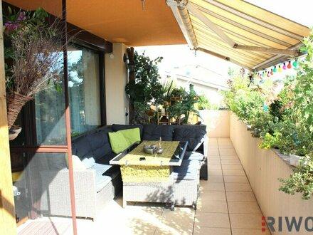 SONNIGE Familienwohnung mit Herz und einer sensationellen Terrasse