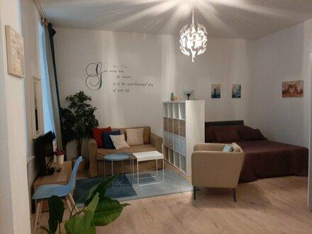 Wundervolle Wohnung 1 Zi. nähe Praterstern, Nestroyplatz und Taborstraße