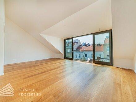 Luxuriöse 3-Zimmer Penthouse mit Terrasse, Nähe Krottenbachstraße