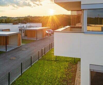 ITH - PROVISIONSFREI: ökologisch gebaute MAISONETTEN-Wohnung mit einladender Terrasse und Eigengarten!