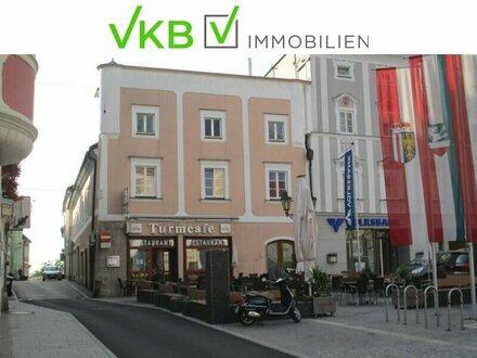 Hauptplatz Enns-Attraktives Wohn-und Geschäftshaus mit Erweiterungspotential
