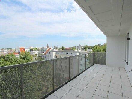 Upper West 119! 4-Zimmer-Erstbezug mit zwei Balkonen und freiem Grün-Blick im 4. Liftstock