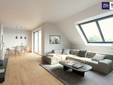 PERFEKT! Top geschnittene Dachgeschosswohnung mit vier Zimmer + Feinster Ausstattung + Grandioser Terrasse!