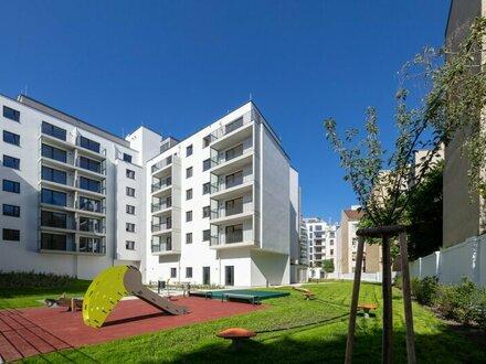 3 Zimmer mit 10m² Terrasse, hofseitig und zentral begehbar, Supermarkt im Haus, U-Bahn vor der Tür - LIWI280/177