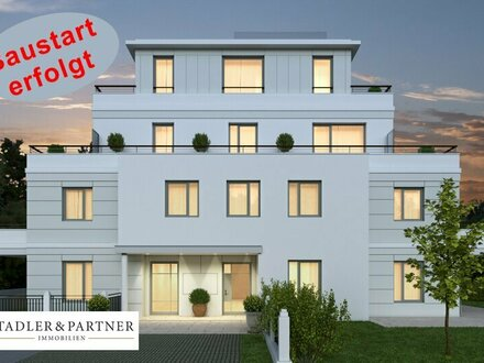Perfekt ausgerichtete 3 Zimmer Erstbezugs-Terrassen-Wohnung in der Riedenburg!