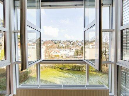Wunderschöne und toll sanierte 3-Zimmer Wohnung mit Balkon und traumhaften Blick in 1190 Wien zu vermieten!