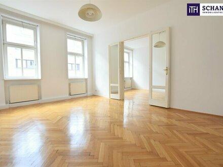 Online Rundgang bequem von der Couch möglich: Urban Living! Ideale Infrastruktur und Anbindung + Altbaustil + 3-Zimmer +…