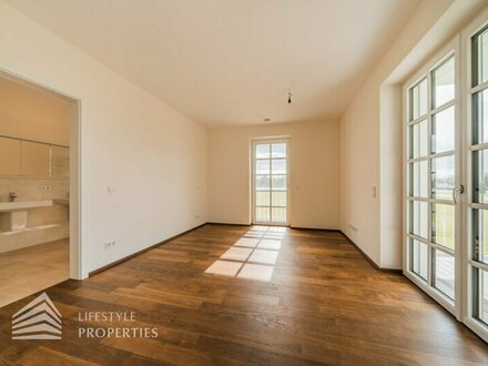 Erstbezug - Ruhige 3-Zimmer Wohnung mit Balkon und Seeblick in Ebreichsdorf