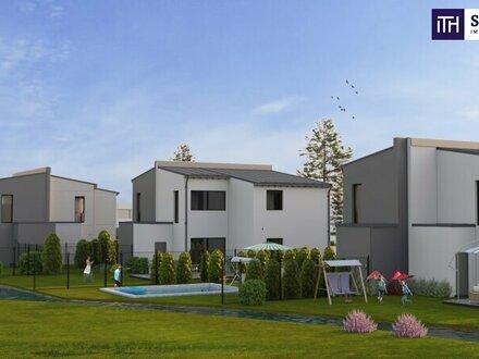 Idylle pur + FAMILIENTRAUM: Doppelhaushälfte in grüner und ruhiger Lage am Wasser in Wien-Nähe zu verkaufen!