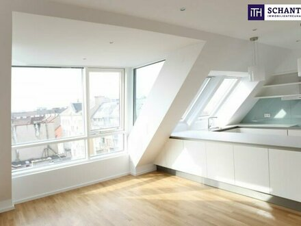 Traumhafte Wohnung im Dach mit Rundum-Blick über ganz Wien! Perfekte Raumaufteilung + Gute öffentliche Anbindung!