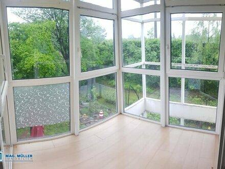 Geniale 2-Zimmerwohnung + Wintergarten + Carport im lebenswerten Elsbethen