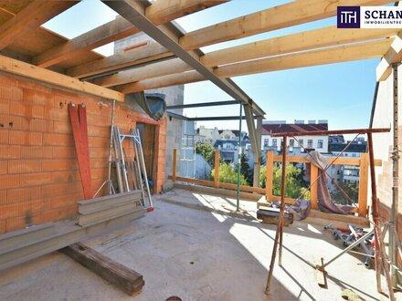 Einziehen und Wohlfühlen! Perfekt aufgeteilte 4-Zimmer Dachgeschoss Wohnung mit Terrasse! Traumhaftes Altbauhaus + Ruhelage!