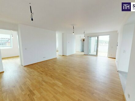 """""""Mit virtuellem Rundgang"""" - Geniales Penthouse mit ruhiger Terrasse in Richtung Innenhof!"""