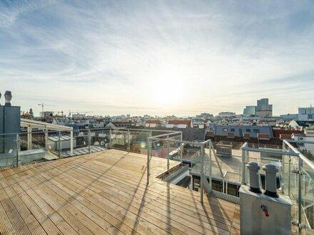 ++NEU++ Hochwertiger 4-Zimmer DG-ERSTBEZUG mit Dachterrasse, toller Stilaltbau, Weitblick! Maisonette!